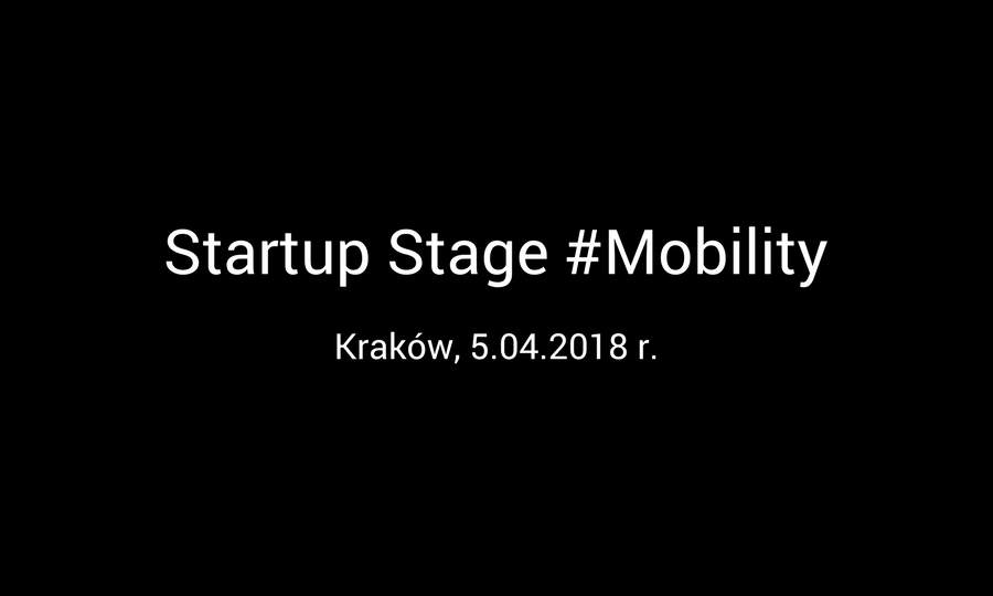 Startup Stage #Mobility